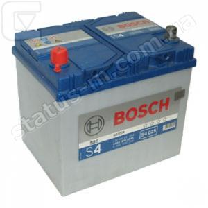 BOSCH / 0092S40250 / Аккумулятор 60 Ач S4 ASIA 540-А снг /232*173*225/ +/-  (пр-во BOSCH) 2012 года БРАК фото 1
