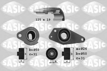 SASIC / 1754017 / TIMING BELT KIT (пр-во SASIC) фото 1