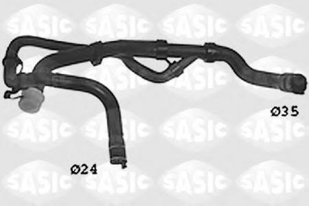 SASIC / SWH0490 / RADIATOR HOSE (пр-во SASIC) фото 1